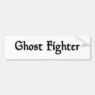 Ghost Fighter Bumper Sticker