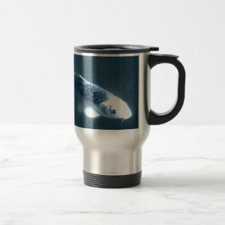 """Ghost"" Fish Travel Mug"