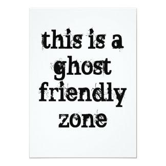 ghost friendly card
