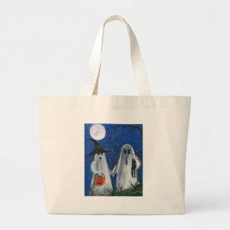 Ghost Friends Tote Bags