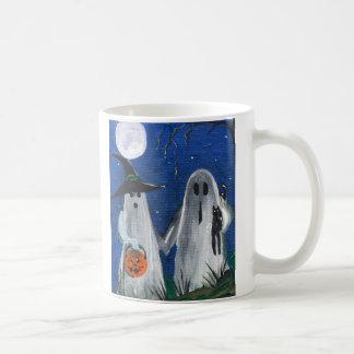 Ghost Friends Coffee Mug