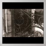 GHOST GATE B&W PHOTOGRAPH PRINT