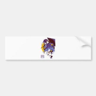 Ghost Girl Bumper Sticker