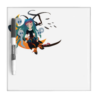 Ghost Girl Dry-Erase Boards