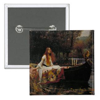 "Ghost Girl in the Lady of Shalott ""John Waterhouse Pin"