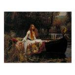 "Ghost Girl in the Lady of Shalott ""John Waterhouse Postcard"