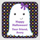 Ghost Girl | Kids Halloween Sticker