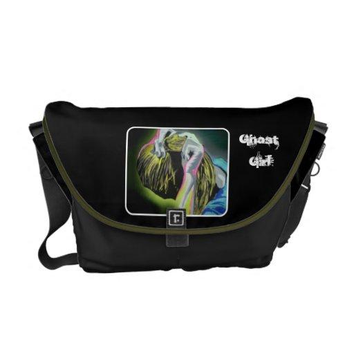 'Ghost Girl' Rickshaw Messenger Bag