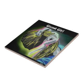 'Ghost Girl' tile
