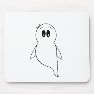 Ghost Gito the Penguin Mouse Pad