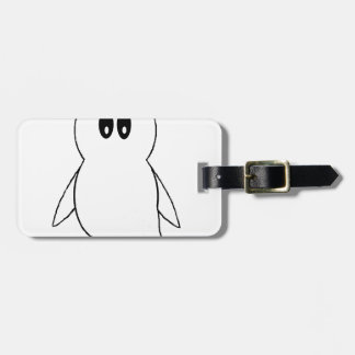 Ghost Gito the Penguin Tag For Luggage