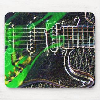 Ghost Guitarist Mousepad