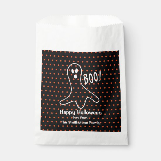 Ghost Halloween Favor Bags