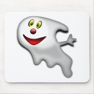 Ghost Halloween Image Mouse Pad