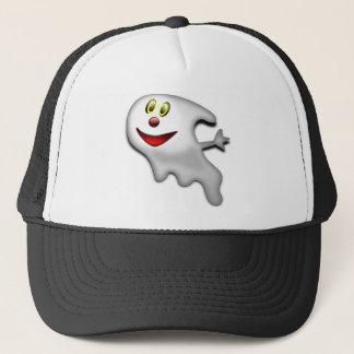 Ghost Halloween Image Trucker Hat