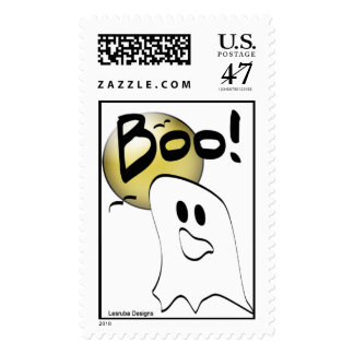 Ghost Halloween Stamps