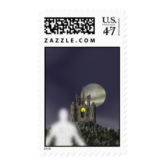 Ghost - Halloween Stamps
