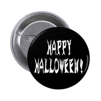 Ghost Halloween Text 2 Inch Round Button