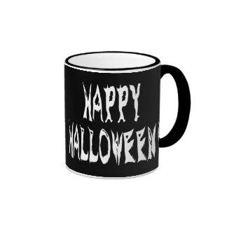 Ghost Halloween Text Coffee Mug