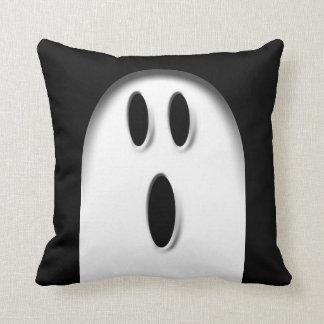 Ghost Halloween Throw Pillow