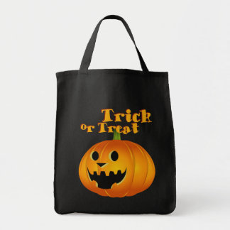 Ghost Halloween trick and treat bag