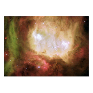 Ghost Head Nebula Space Business Card Templates