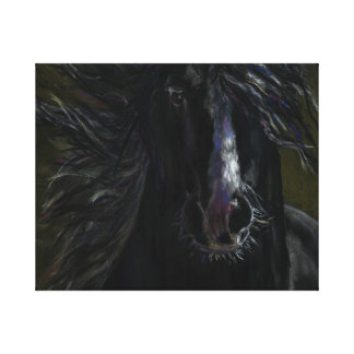 Ghost Horse Canvas Prints