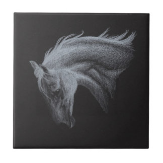 Ghost Horse Collection Tile