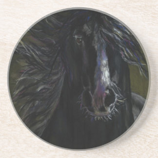 Ghost Horse Drink Coaster