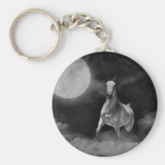 Ghost horse keychain