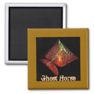 Ghost Horse Magnet