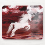 Ghost horse mouse pad