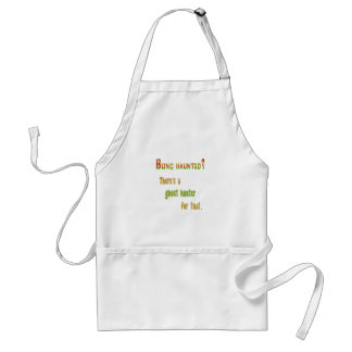 Ghost Hunter App For That Adult Apron