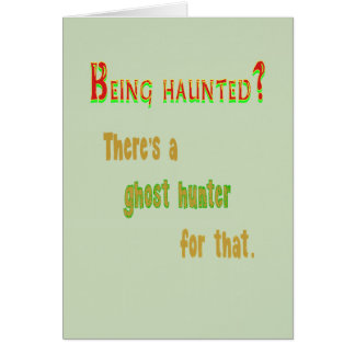 Ghost Hunter App For That Card