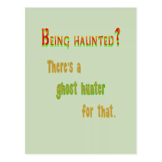 Ghost Hunter App For That Postcard