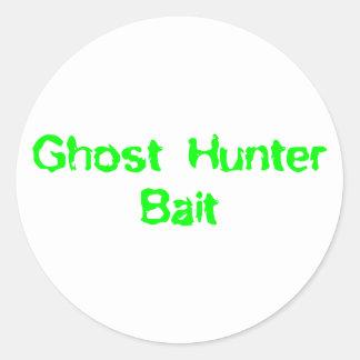 Ghost Hunter Bait Classic Round Sticker