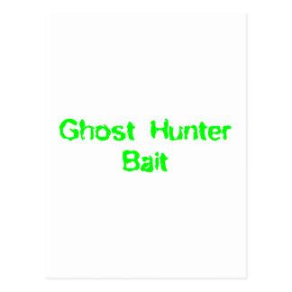 Ghost Hunter Bait Postcard