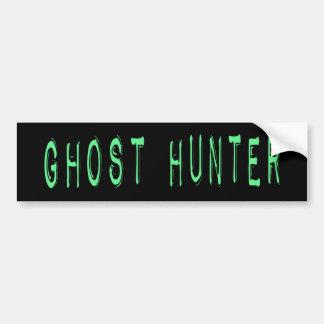 Ghost Hunter - Black Background Bumper Sticker
