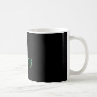 Ghost Hunter - Black Background Coffee Mug