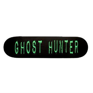 Ghost Hunter - Black Background Skateboard Deck