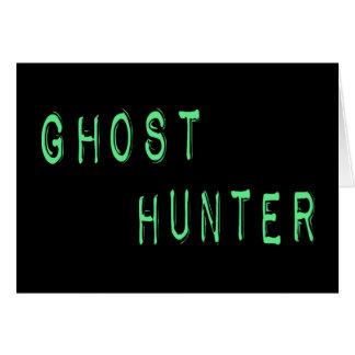 Ghost Hunter Card
