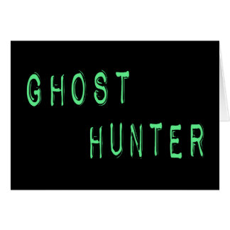 Ghost Hunter Cards