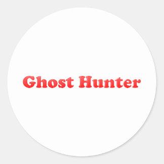 Ghost Hunter Classic Round Sticker