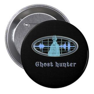 Ghost hunter designs pinback button