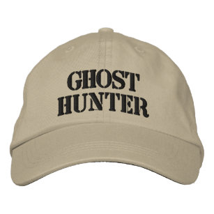 447cdfec9909a I would rather be ghost hunting embroidered baseball cap.  20.95. 15% Off  with code HAPPYWEEKDAY. Ghost Hunter Embroidered Hat