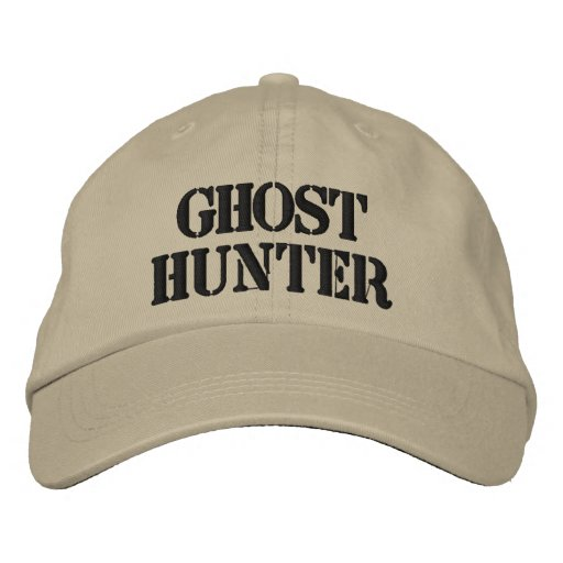 Ghost Hunter  Embroidered Hat