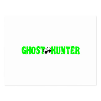 Ghost Hunter Eyes Postcard