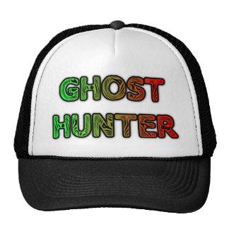 Ghost hunter fingerprint logo trucker hat