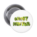 ghost hunter green skulls pin