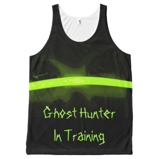 Ghost Hunter in training All-Over-Print Tank Top